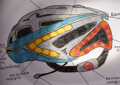 superbezpieczny kask na rower